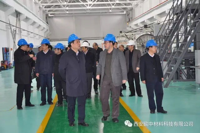 Vice-governor Daohong Zhang visited SMT to inspect and direct